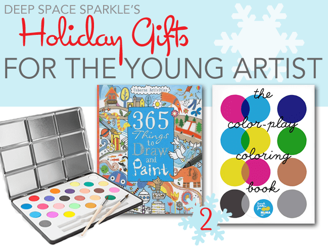 Holiday Gifts for the Young Artist