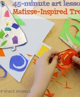 Matisse-Inspired Christmas Tree