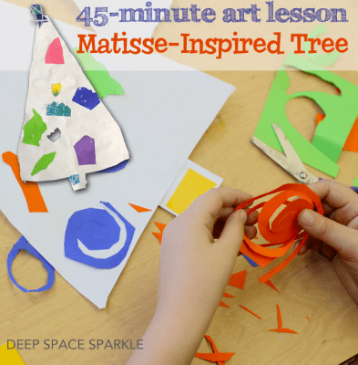 Matisse-Inspired Christmas Tree
