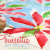 Poinsettia print art project: simple kid's art and craft activity for the holidays.