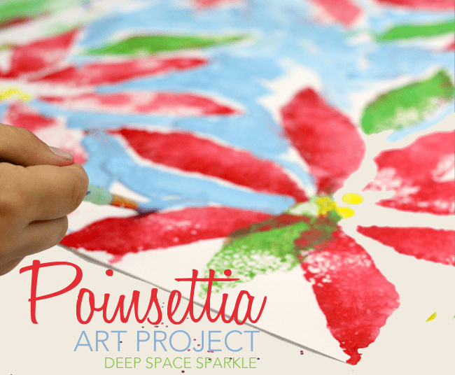 Poinsettia Print Project