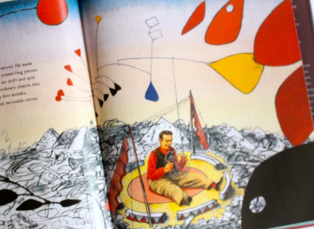 A peek inside Sandy's Circus: a story about Alexander Calder