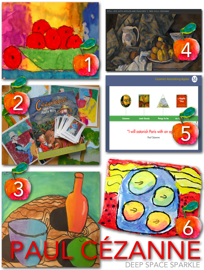 A collection of Paul Cézanne art lessons and videos for kids