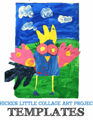 Templates and a Shape Guide for Creating your own Chicken Little