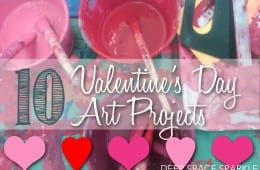 Valentine's Day Art Projects and Resource Round-up