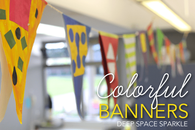 Colorful Art Banners for your Art Room
