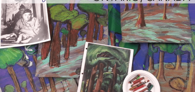 Emily Carr Art Lesson Gallery from Ontario