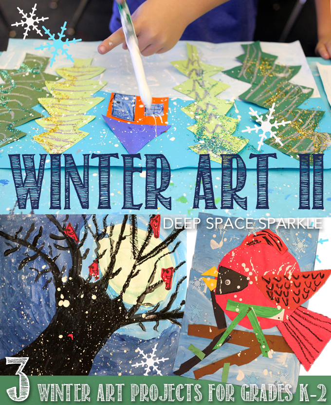 Winter Art Projects for Grades K-2
