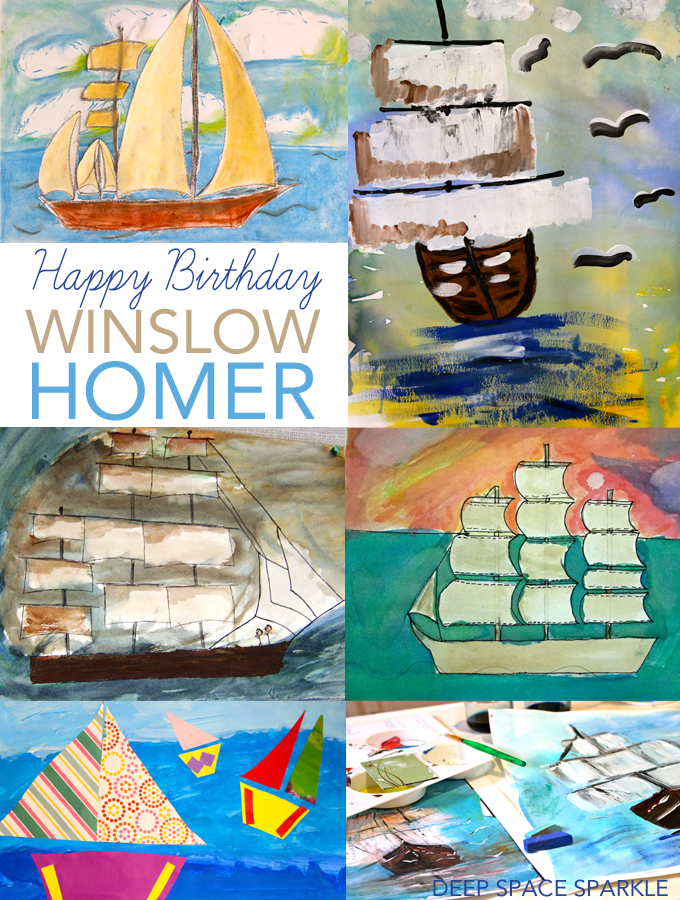 Winslow Homer art projects and resources for kids