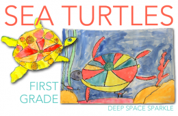 Sea Turtles Drawing & Painting Lesson