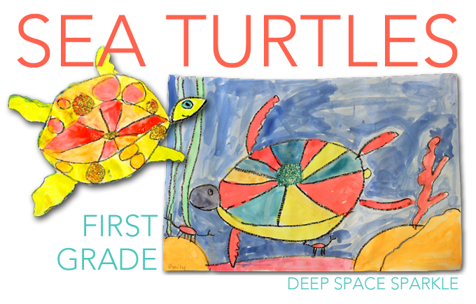 Sea Turtles Drawing  U0026 Painting Lesson
