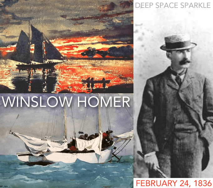 Happy Birthday, Winslow Homer!