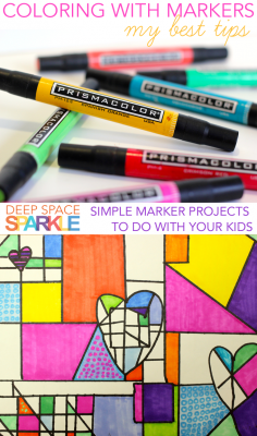 Art Tip Video: Using Markers in the Art Room
