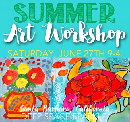 Summer Art Workshop: Registration Open!