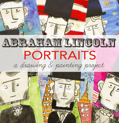 Lincoln Portraits Art Project