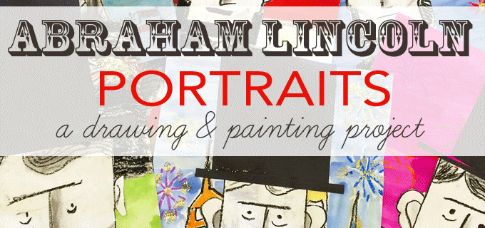 Lincoln Portraits Art Project
