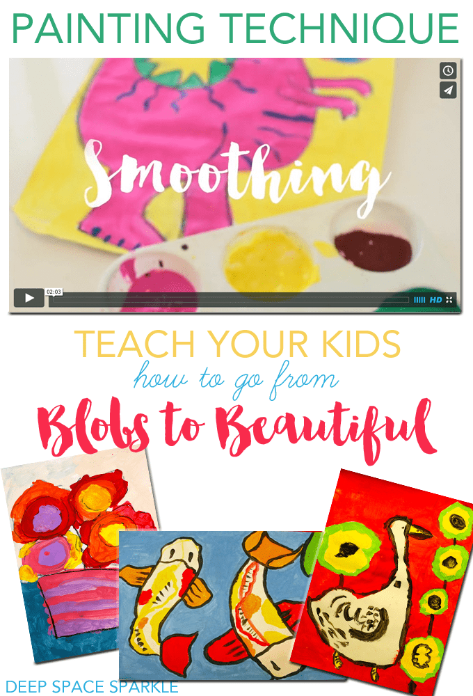 Video art tip: teach your kids how to paint smoothly