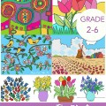 Springtime with the Masters Easy Art Projects