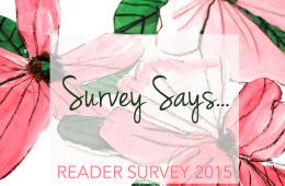 Survey Says…Reader Survey Results 2015