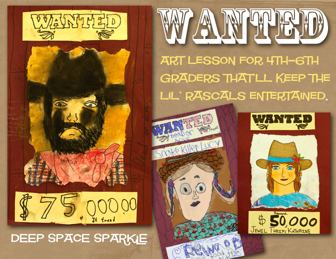 Gunslingers & Outlaws Art Project