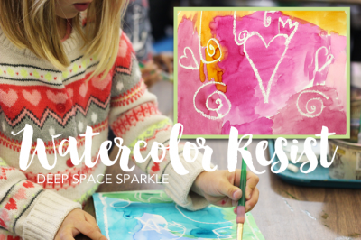 An Easy Watercolor Resist Lesson That Is Essential And Fun For The