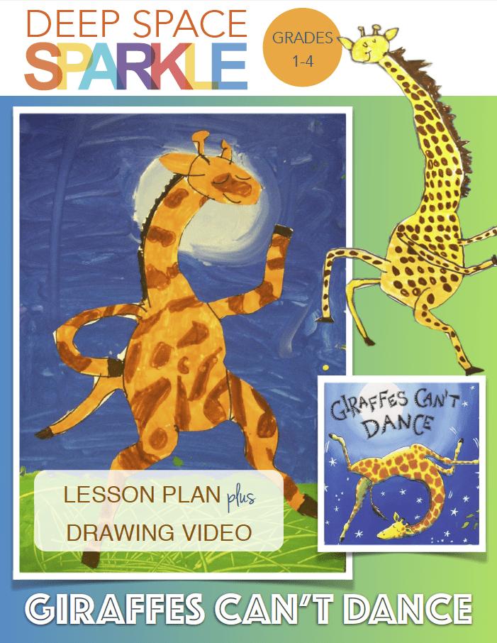 Giraffes Can't Dance Art Lesson & Drawing Video