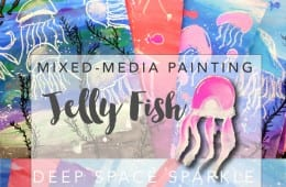 Jelly Fish Art project