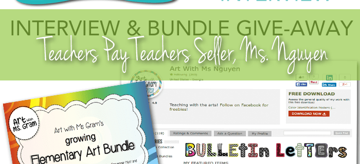 Teachers Pay Teachers Seller profile: Art Teacher Melinda Nguyen