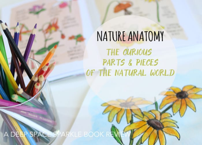 Nature Anatomy book review and art projects from Deep Space Sparkle