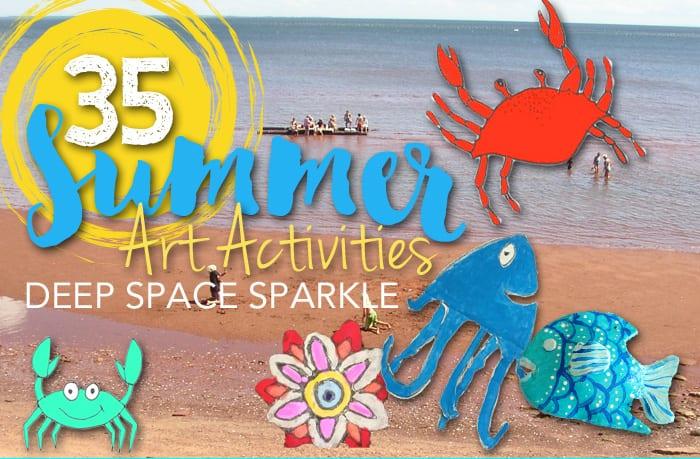 35 Summer Art Activities Guide