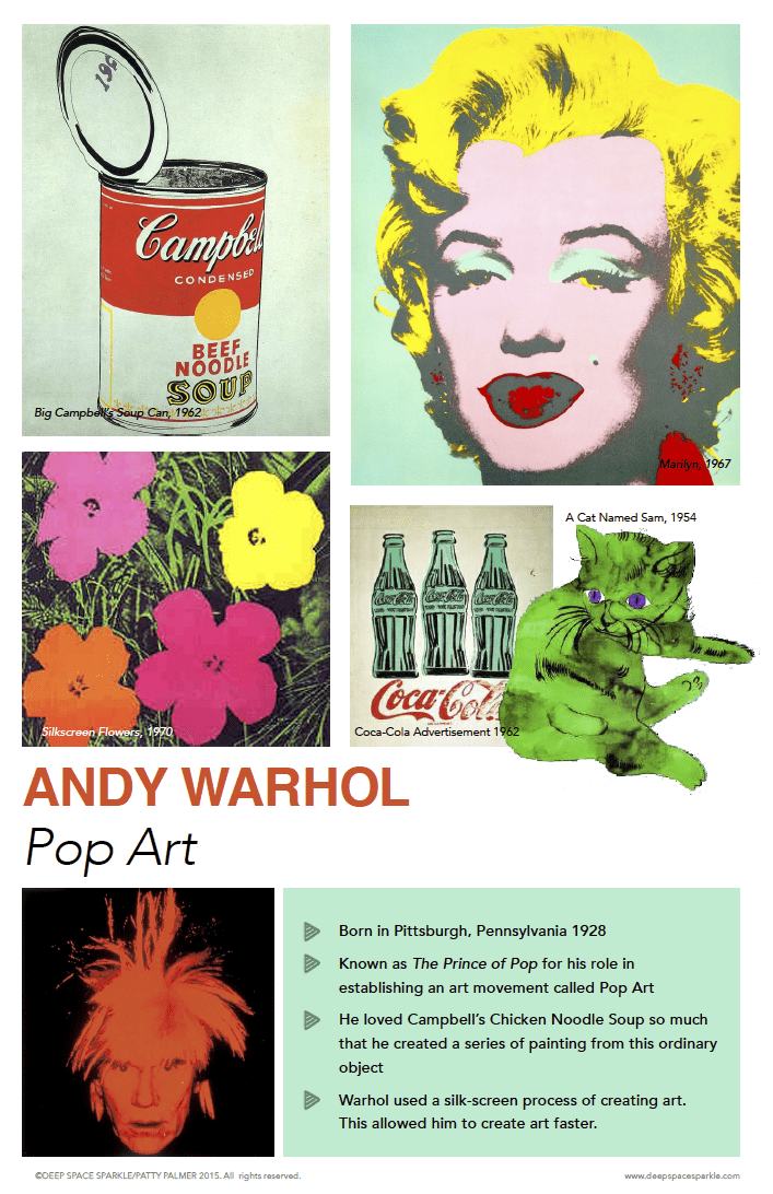 andy warhol biography essay An essay or paper on andy warhol's the pop arts' movement the pop arts' movement began in the late 50's and early 60's dubbed, the founding father of the movement.