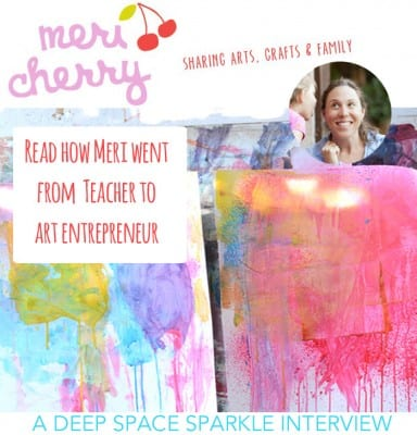 Teach Art at Home: Interview with Meri Cherry