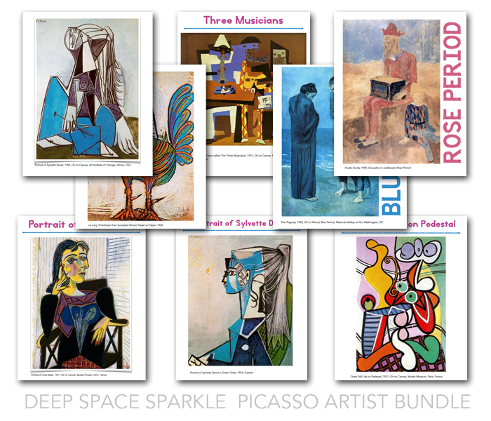Artworks featured in Picasso Artist Bundle
