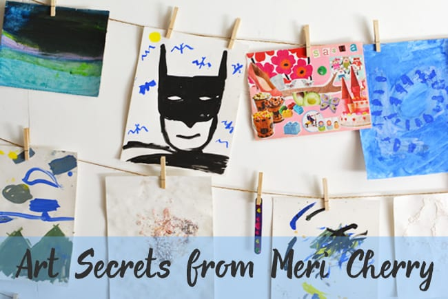 Art Secrets from Meri Cherry. Interview on Deep Space Sparkle