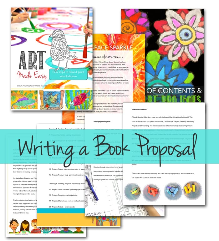 How to write a creative book proposal