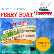 How to Draw & Paint Ferry Boats