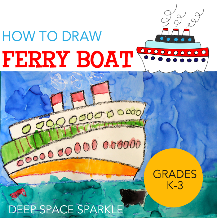 How to Draw & Paint a Ferry Boat