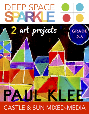 Paul Klee's Castle and sun art project