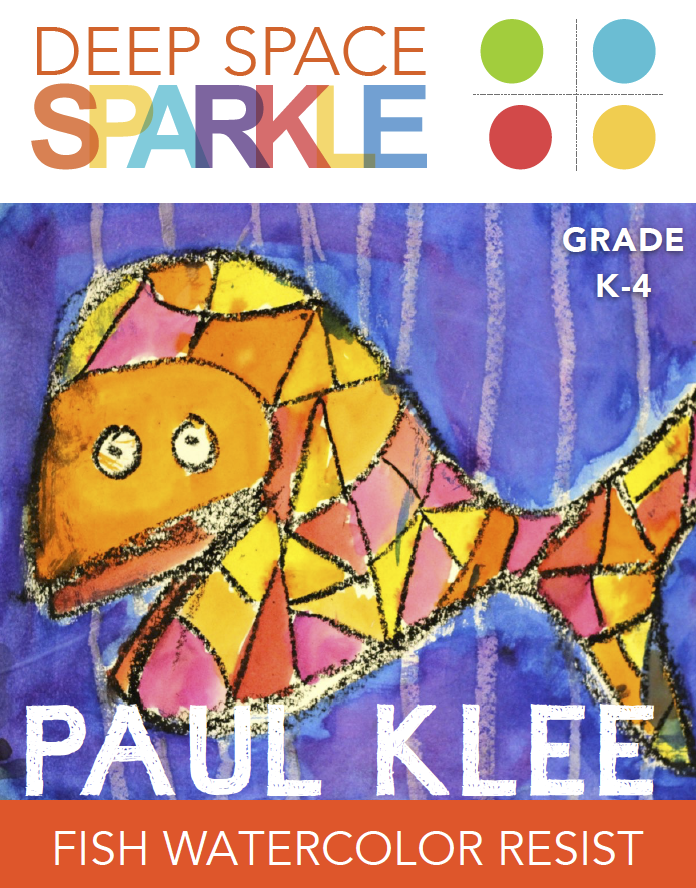 Paul Klee Cubist Fish Lesson & Video