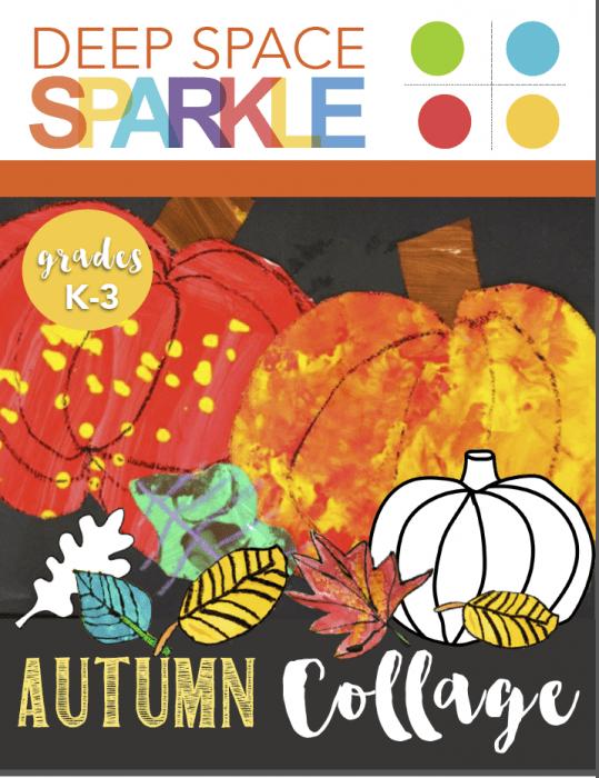 Autumn Collage Art Activity Pack