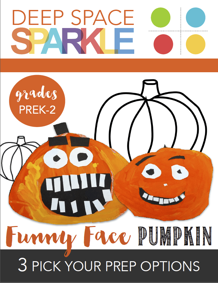 Funny Face Pumpkin Craft Activity Pack