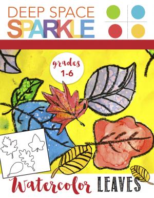 Watercolor Leaves Art Activity