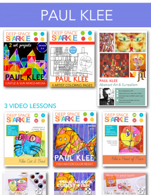 Paul Klee Artist Bundle Art projects & Teacher Resources