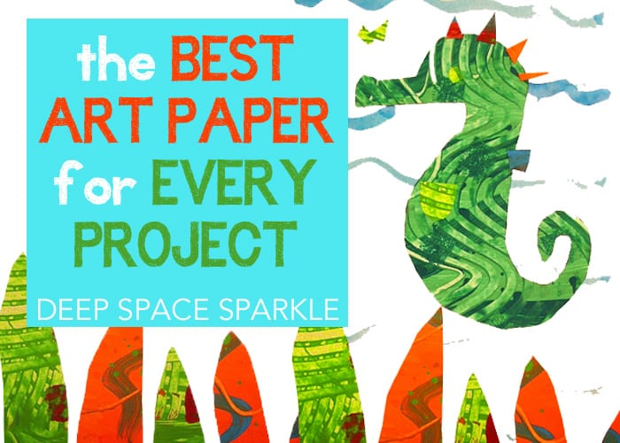 Kids art: the best art paper for every project