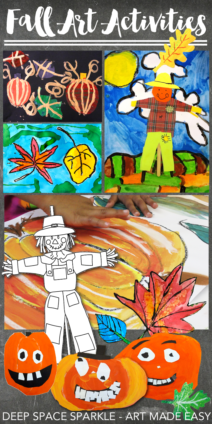 Easy Fall Art projects for Kids 5-10