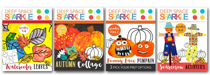 4 easy art projects for fall