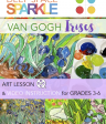 Van Gogh's Irises Art Project & Video