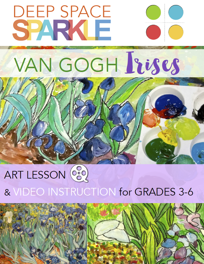Van Gogh Irises & Video