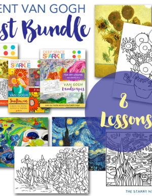 Van Gogh Art Lesson Bundle