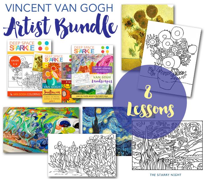 Van Gogh Artist Bundle